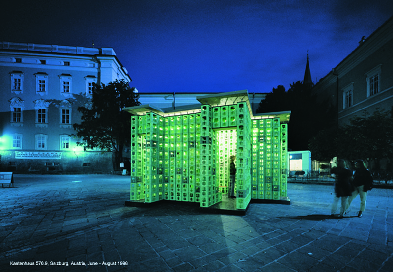 The Kastenhaus_Salzburg, Alter Markt, 1998