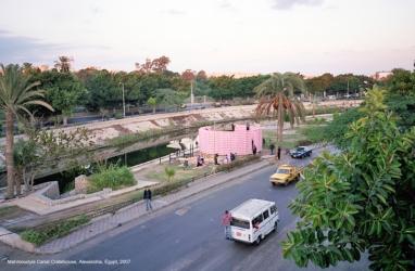 set up_ The Kastenhaus_Alexandria, Egypt, 2007