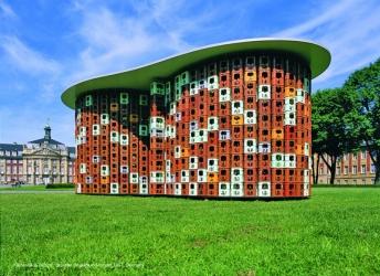 The Kastenhaus_Skulptur.Projekte in Münster 1997